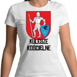 koszulka damska herb gmina Kulesze Kościelne