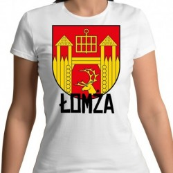 koszulka damska herb gmina Łomża
