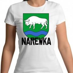 koszulka damska herb gmina Narewka