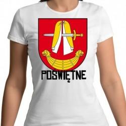 koszulka damska herb gmina Poświętne
