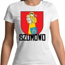koszulka damska herb gmina Szumowo