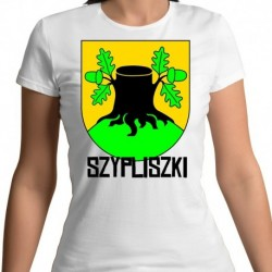 koszulka damska herb gmina Szypliszki