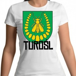 koszulka damska herb gmina Turośl