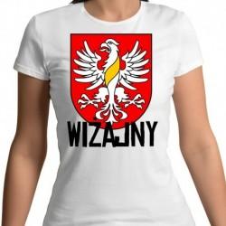 koszulka damska herb gmina Wiżajny