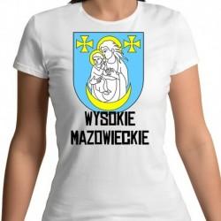 koszulka damska herb gmina Wysokie Mazowieckie