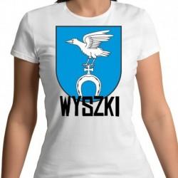 koszulka damska herb gmina Wyszki