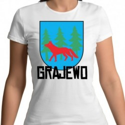 koszulka damska herb Grajewo