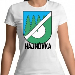 koszulka damska herb Hajnówka