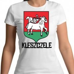 koszulka damska herb Kleszczele