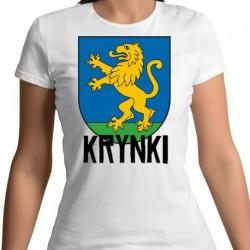 koszulka damska herb Krynki