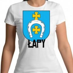 koszulka damska herb Łapy