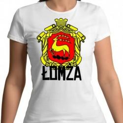 koszulka damska herb Łomża