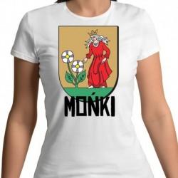 koszulka damska herb Mońki