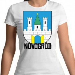koszulka damska herb Nowogród
