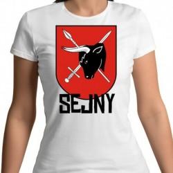 koszulka damska herb Sejny
