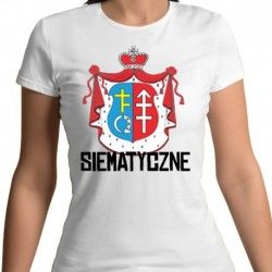 koszulka damska herb Siematyczne