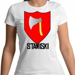 koszulka damska herb Stawiski