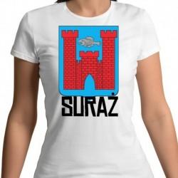 koszulka damska herb Suraż
