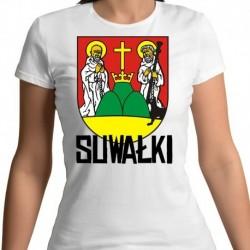 koszulka damska herb Suwałki