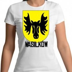 koszulka damska herb Wasilków