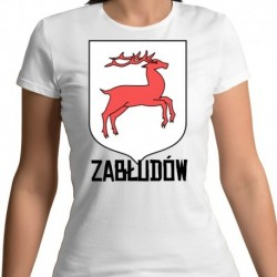 koszulka damska herb Zabłudów