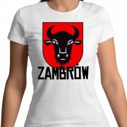 koszulka damska herb Zambrów