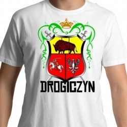 koszulka herb Drogiczyn