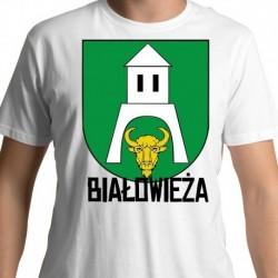 koszulka herb gmina Białowieża