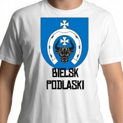 koszulka herb gmina Bielsk Podlaski