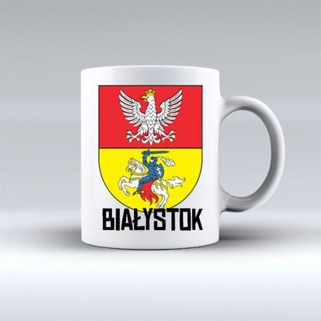 kubek herb Białystok