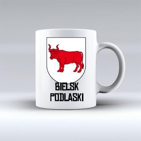 kubek herb Bielsk Podlaski