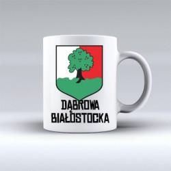 kubek herb Dąbrowa Białostocka