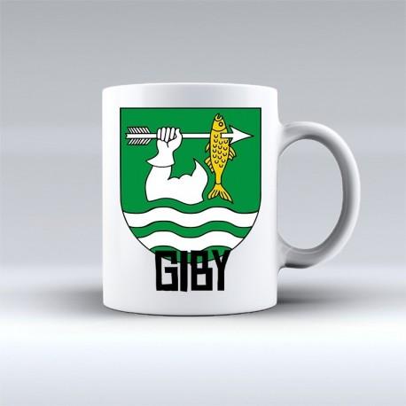 kubek herb gmina Giby