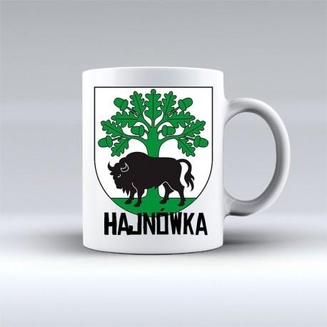 kubek herb gmina Hajnówka