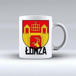 kubek herb gmina Łomża