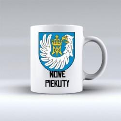 kubek herb gmina Nowe Piekuty