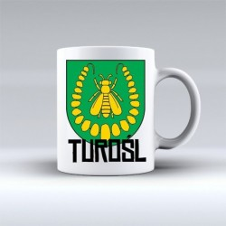 kubek herb gmina Turośl