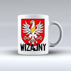 kubek herb gmina Wiżajny