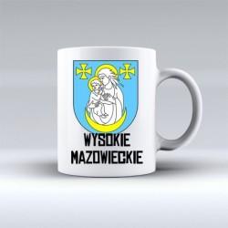 kubek herb gmina Wysokie Mazowieckie