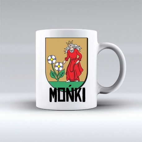 kubek herb Mońki