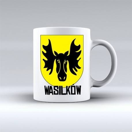 kubek herb Wasilków