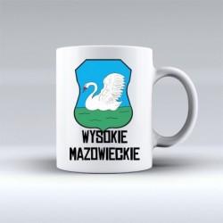kubek herb Wysokie Mazowieckie