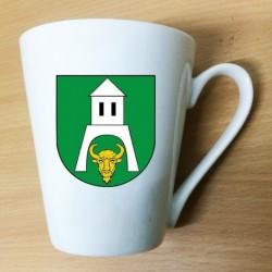 kubek latte gmina Białowieża