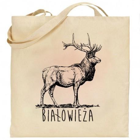torba białowieża jeleń