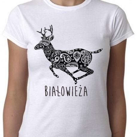 koszulka białowieża jelonek