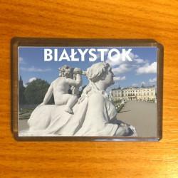 magnes Białystok rzeźba