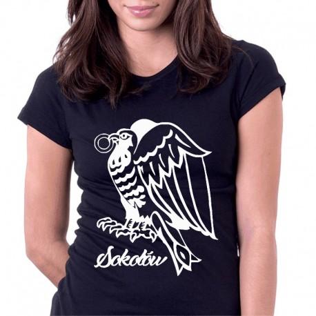 koszulka czarna sokołów