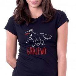 koszulka czarna Grajewo