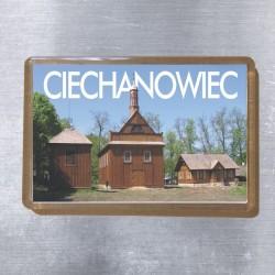 magnes Ciechanowiec kościół w skansenie