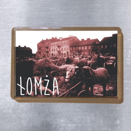 magnes Łomża targ 1926